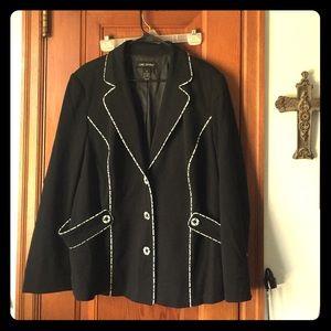 Structures retro jacket size 20 Lane Bryant